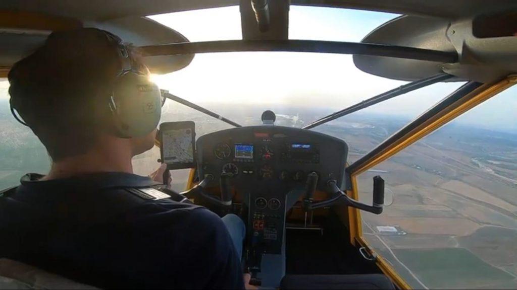 טיסת הכרות לקורס טייס
